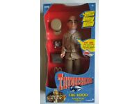 "FROM THE CLASSIC TV SHOW THUNDERBIRDS, I HAVE A 12""TALKING FIGURE ""THE HOOD""."