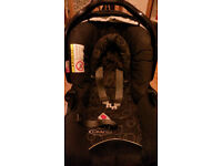 Free Baby car seat, clips in to base