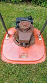 Petrol flymo 2 stroke hover mower
