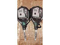 Tenis racket head