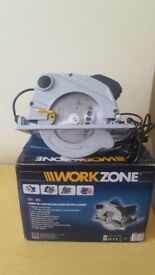 WorkZone Circular Saw 1500W Used once