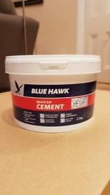 2.5kg quick set cement (new)