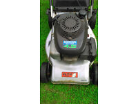 "honda lawnmower , power drive , 18""cut , in good working order"