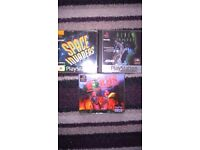 PLAYSTATION 1 GAMES X3 SPACE INVADERS, WORMS AND ALIEN TRILOGY