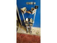 Marshalltown plastering stilts