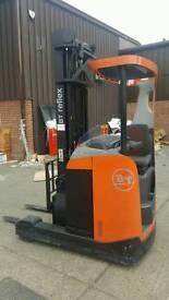 Toyota Forklift reach truck