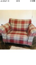 Next gosford sofa and cuddle chair