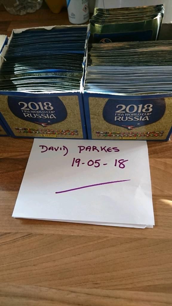 Russia 2018 Panini Sticker Packs