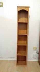 Sturdy wooden dvd/cd shelves case