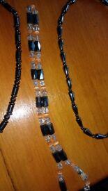 5 x Magnetic Hematite Necklaces