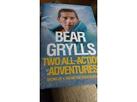 Bear Grills Two All-Action Adventures hardback book