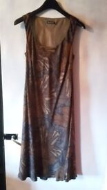 Band new silk dress from Planet size 12