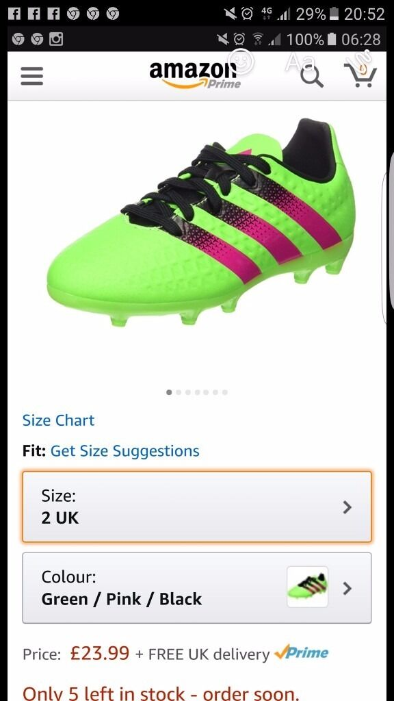 New boys Adidas football boots size 2in Plymouth, DevonGumtree - New boys size 2 Adidas football boots som has had a growth spurt hence sale