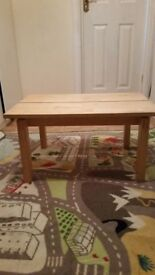 STURDY WOODEN SIDE TABLE (STILL IN GOOD CONDITION)