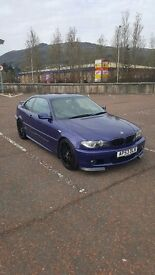 2003 BMW 330ci CLUBSPORT COUPE, LIMITED EDITION BLUE VELVET FULL LEATHER E46 3 SERIES MANUAL PETROL
