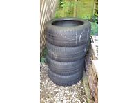 225 45 R17 GOOD YEAR M+S tyres / in good condition