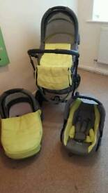 Zippy baby 3in1 pram