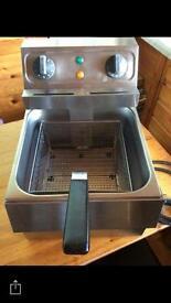 Commercial counter top fryer
