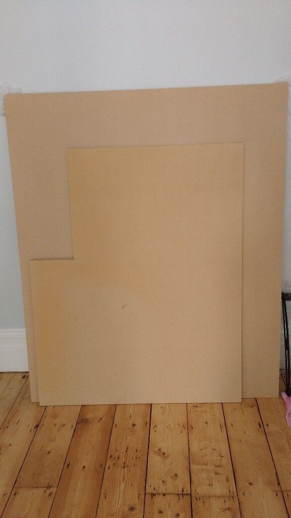 Two sheets of hardboard 1 cm thick | in Westbury Park