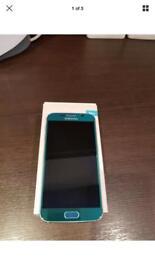 Samsung galaxy S6 Topaz Blue 32GB Unlocked