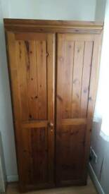 Wooden wardrobe Free delivery on 12-th march