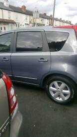 Automatic Nissan note