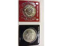 8 Commemorative Coins and 1 Souvenir Medal