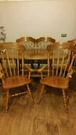 Dinning Room/Kitchen table and 6 chairs