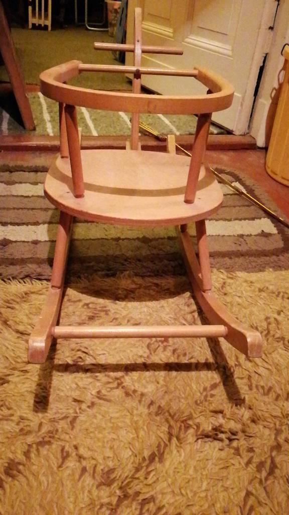 antikes schaukelpferd 50 60er jahre stil stabil massiv eur 58 00 picclick de. Black Bedroom Furniture Sets. Home Design Ideas