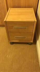 3 bedside tables