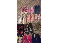 Joblot of girl shoes