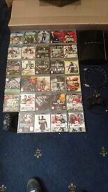 Playstation 3 and 30 games plus a 42 inch LG TV