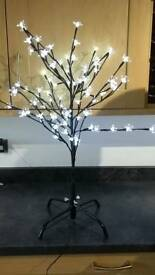 Blossom tree 80 LED 80cm tall bright cold white can be used indoor or outdoor