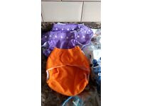 Reusable nappies + clips