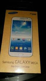 Brand new sealed Samsung galaxy mega 5.8 inches
