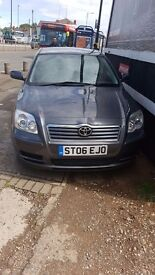 TOYOTA AVENSIS 1.8 VVTi T3-S PETROL 2006 REG IN EXCELLENT CONDITION