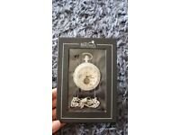 Vintage Men' Mechanical Pocket Watch, Half Hunter Case, The Heritage collection