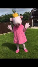 Princess peppa mascot