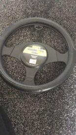 Medium sized steering wheel cover