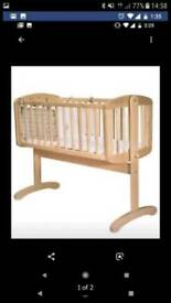 SWINGING CRIB BUNDLE
