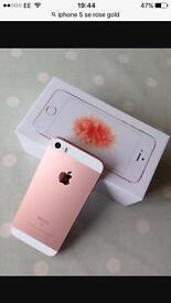 I phone 5se rose gold