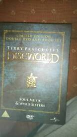 Limited edition Terry Pratchett dvd book box set