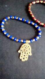 Handmade hansa bracelets x2 New bargain