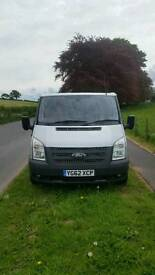 62plate ford transit very low miles.