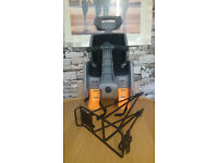 Child`s Bike seat and cycle carrier