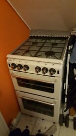 Newworld newhome gas cooker white