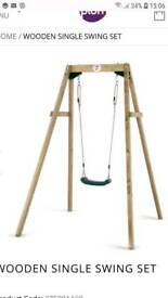 Wooden Play Swing