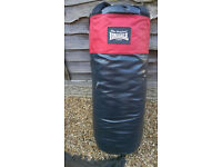 longdale small punch bag complete with fixing chains.collection.willenhall wv124aw