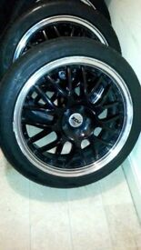 ZCV alloy wheels+tyres