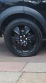 """Land rover 22"""" alloy wheels discovery 3 range rover sport"""